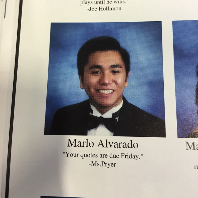 Quotes Yearbook 2: 19 Ridiculous Yearbook Quotes - Funny Gallery