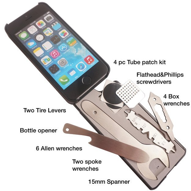 Awesome Gadgets Part - 36: 1 - An IPhone Case With 22 Bike Tools Built-in