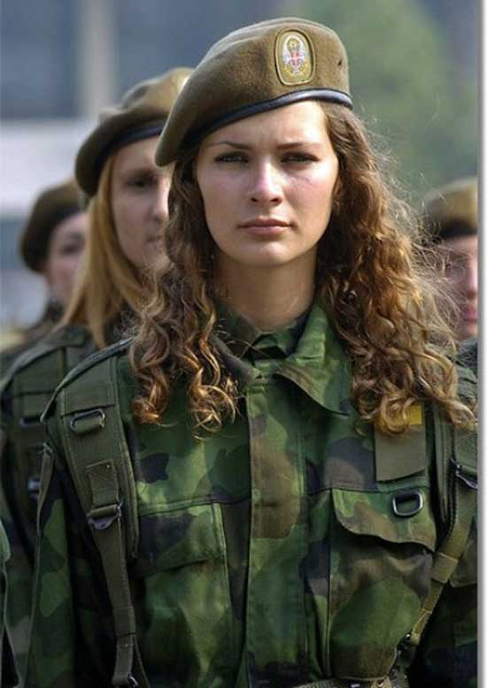 32 - 36 Badass Military Girls That Will Make You Want Women Register For The Draft
