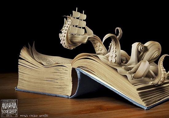 30 Amazing Things Made Out Of Books