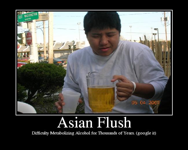 asian flush   picture ebaum s world