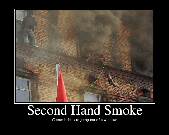 Second hand smoke picture ebaum 39 s world for Second hand ohrensessel