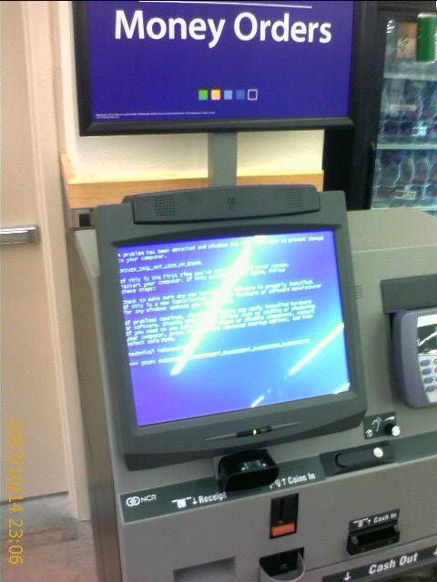 atm machine at walmart