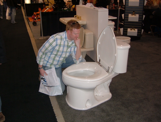 Huge Toilet - Picture | eBaums World