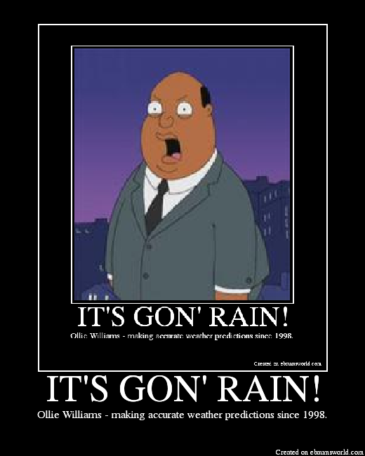 Ollie It Gon Rain