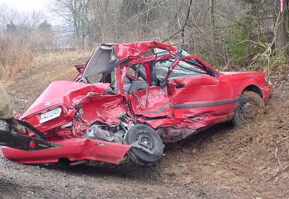 5 car crashes