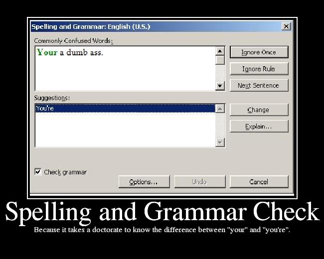 spell check essay