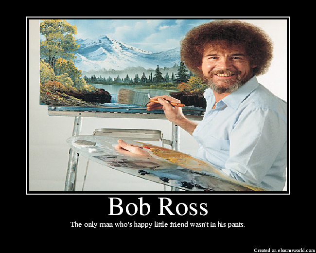 an analysis of the speech of bob ross Learn more about the the joy of painting with bob ross audience, dig deep into demographics, psychographics and interests find similar audiences in the public figure category.