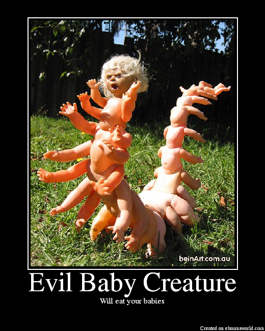 Evil Baby Creature - Picture