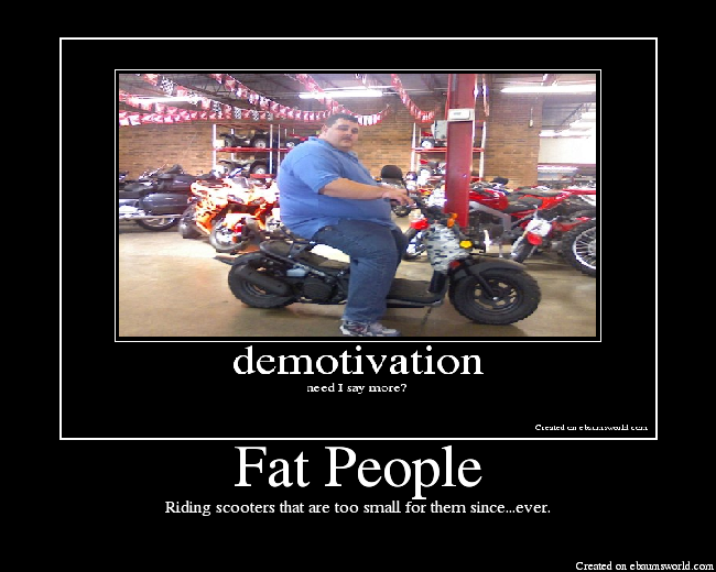 Suerte fat people falling funny fuck that