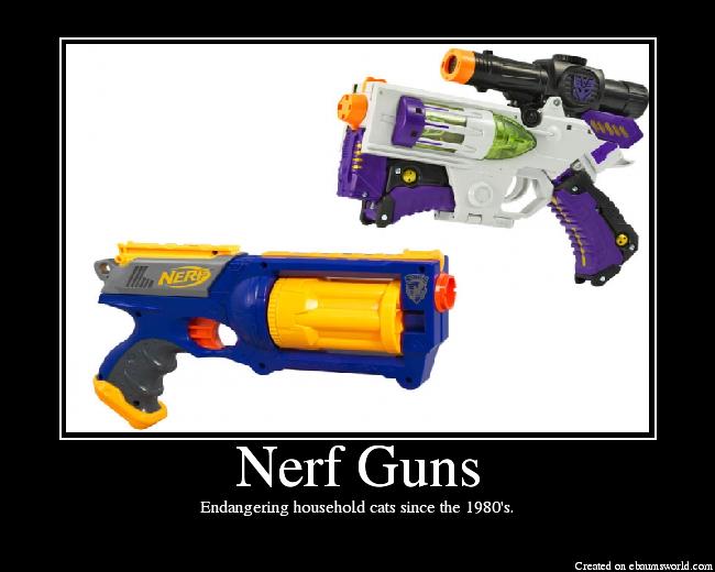 Best Nerf Gun For Cats
