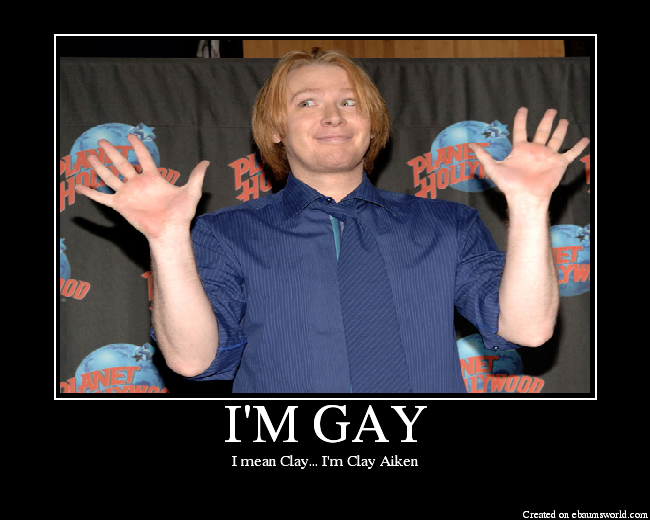 from Nolan clay aiken gay pics