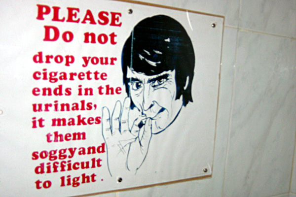 Submitted no smoking in the bathroom with freight charges