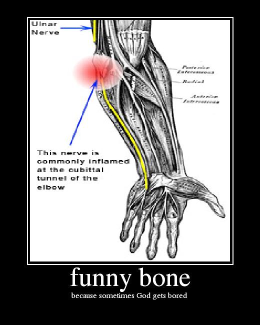pain bone funny feet worst funnybone wonder bare lego why don really word isn outsideperception