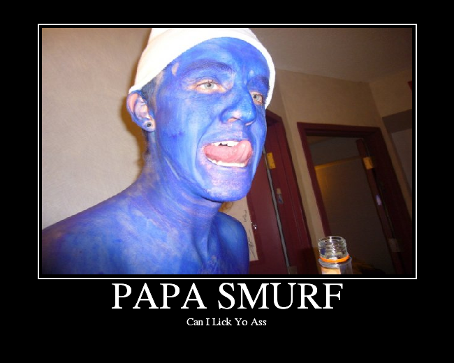 Just love papa smurf can i lick your ass flash not