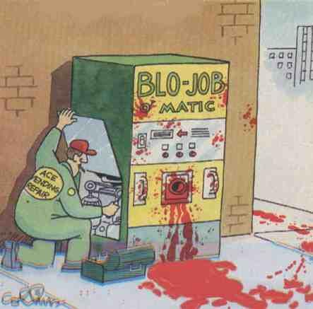 blow job macine