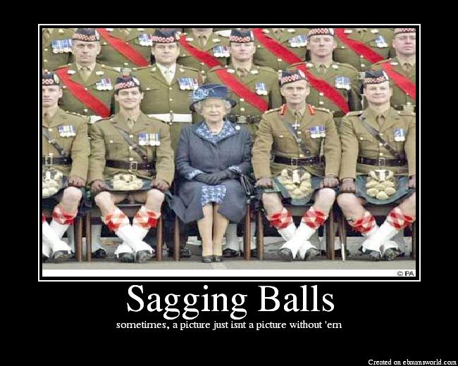 Sagging Balls
