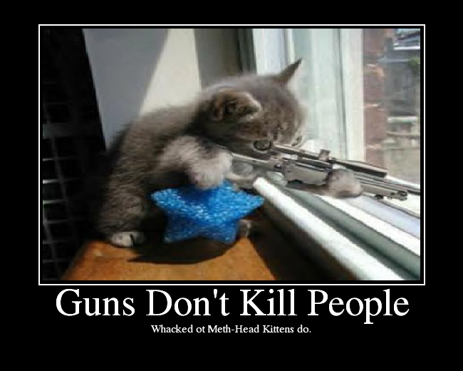 Guns Don't Kill People