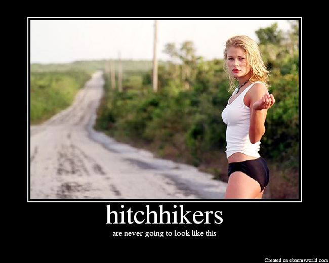 Hot hitchhiker with a perfect ass 10