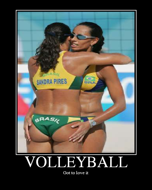volleyball. The sport i love me that football