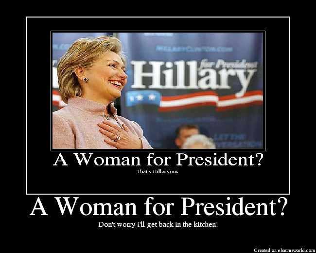 woman for president
