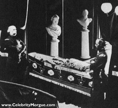 Abraham Lincoln Dead Body
