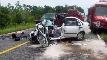 5 crazy car crashes