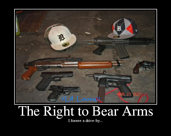 an analysis on the right to bear arms Oklahoma city university law review state constitutions and the right to keep and bear arms, by robert dowlut & janet a knoop.