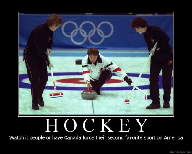 Hockey demotivational poster