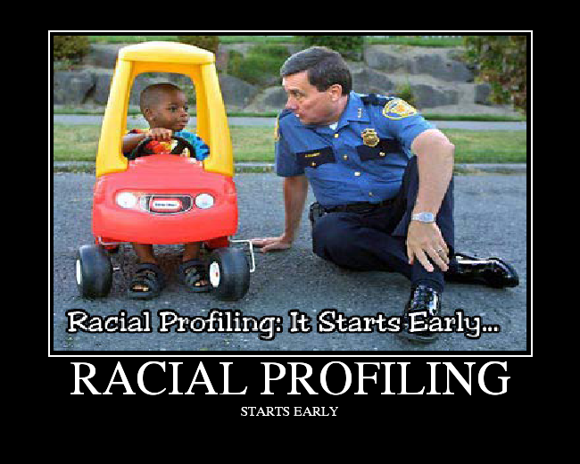 a critical view on racial profiling Although there seems to be a great deal of data pertaining to how the public feels about racial profiling and its prevalence in today's society, there is a gap in data about how officers view racial profiling.