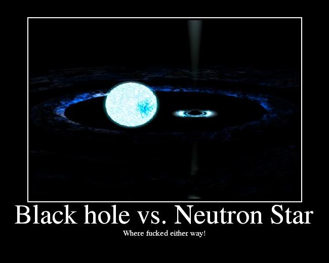 Black hole vs. Neutron Star - Picture | eBaum's World
