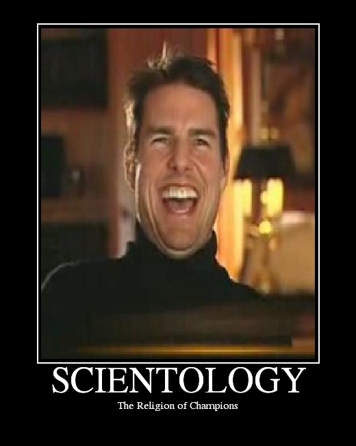 Tom Cruise Scientology Funny