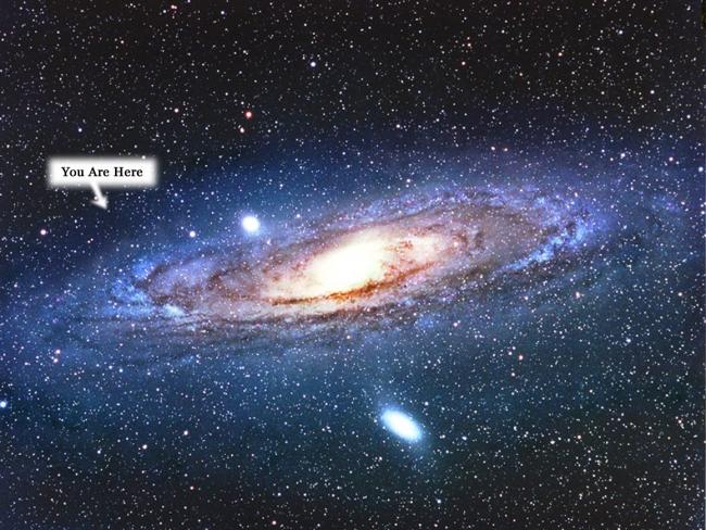milky way compared to andromeda galaxy - photo #13