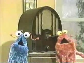 1970s Sesame Street YIP YIP ALIENS Radio view on ebaumsworld.com tube online.