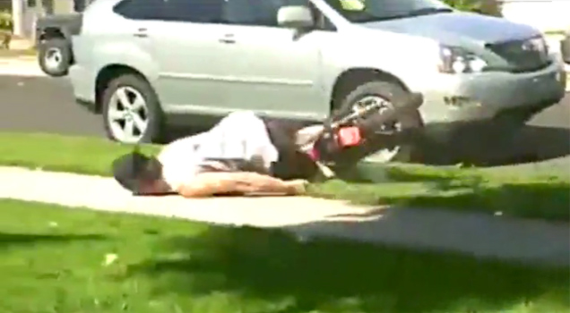 Dirtbike Faceplant