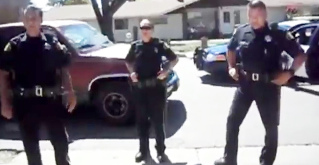 Cops Attempt To Raid Garage Sale