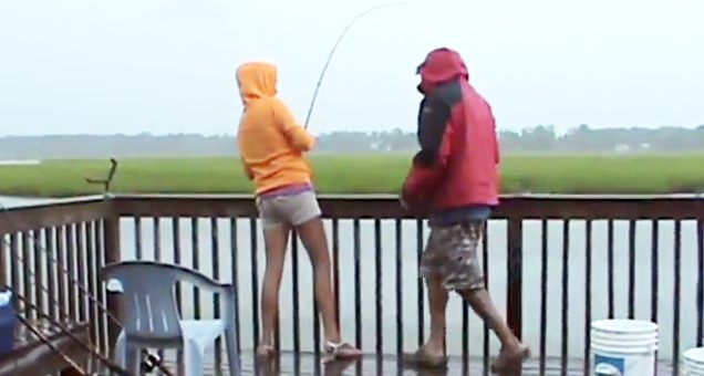 Who Says Fishing Isn't Exciting?