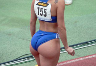 ebony female athletes ass