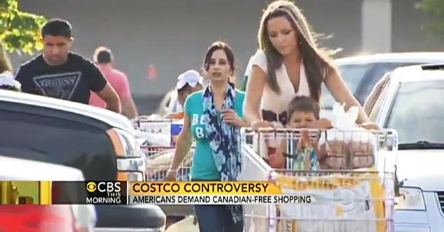 Canadians Infesting American Costco view on ebaumsworld.com tube online.