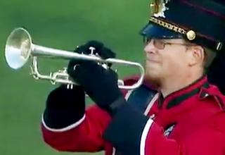 Cincinnati Trumpet Player Bites The Dust view on ebaumsworld.com tube online.