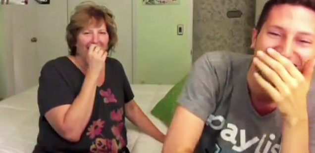 Mom Sleepwalking & Reaction To Footage view on ebaumsworld.com tube online.