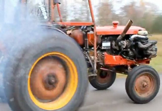 Redneck's Hot Rod Tractor