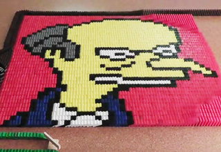 Simpsons Dominoes