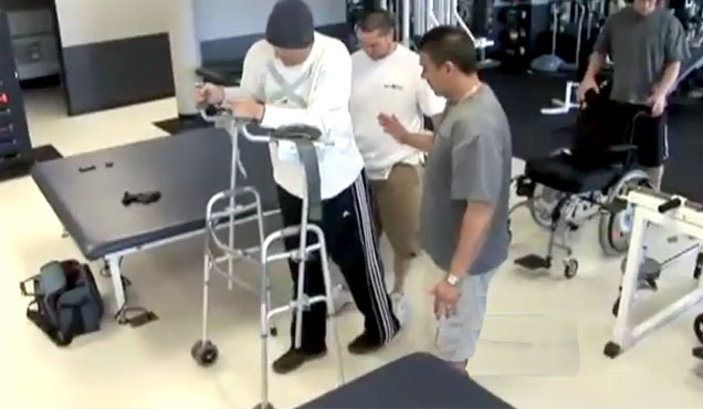 Paralyzed Man Makes Amazing Recovery view on ebaumsworld.com tube online.