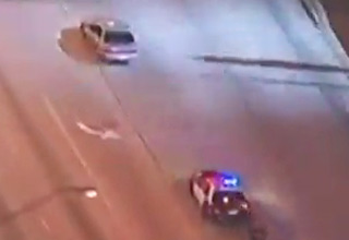 Not Your Typical Police Chase