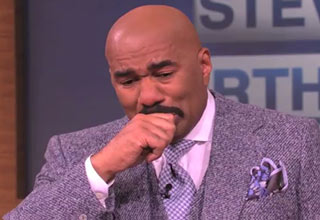The Surprise That Left Steve Harvey In Tears