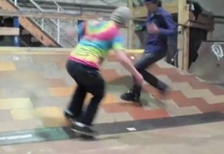 The Team Work Kick Flip!