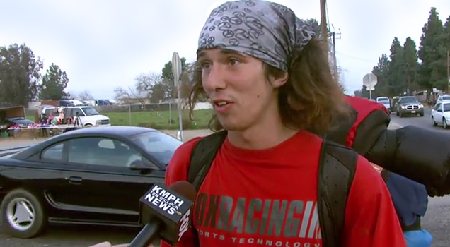 Uncensored Interview With Hatchet Wielding Hitchhiker view on ebaumsworld.com tube online.