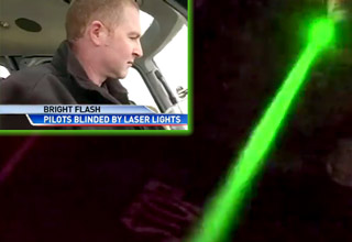 Get Arrested For Shining Lasers At Aircrafts
