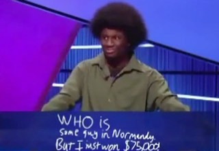 The Best Final Jeopardy Response